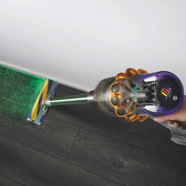 Nieuwe Dyson V15 Detect toont met laser hoe stoffig je huis is