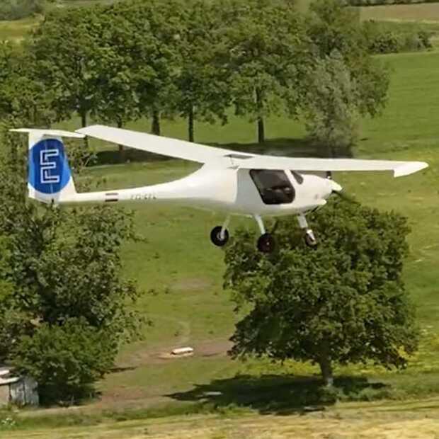 E-Flight Academy maakt eerste elektrische vlucht naar het buitenland