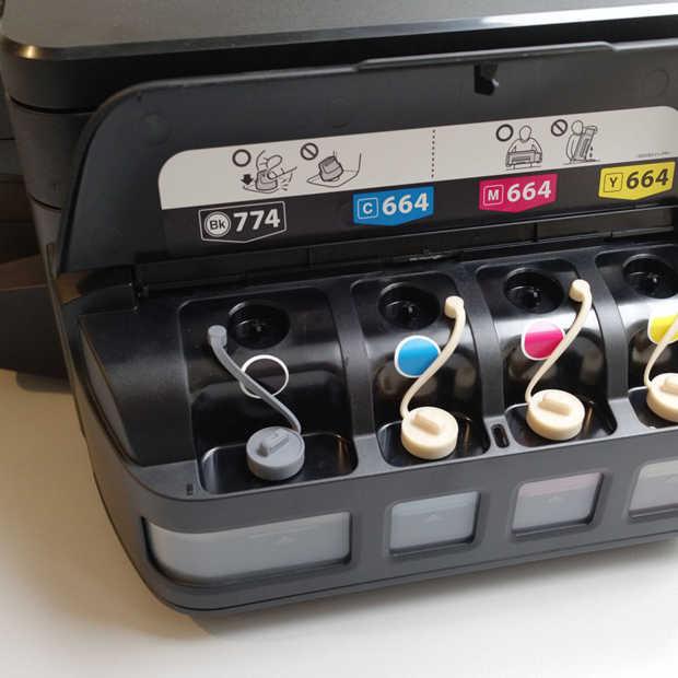 Handig: printen zonder cartridges met de EcoTank-printers van Epson