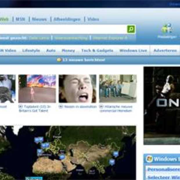 Een nieuwe homepage voor MSN.nl