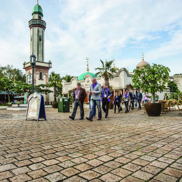 Een 360° virtuele tour door evenementenlocaties Efteling