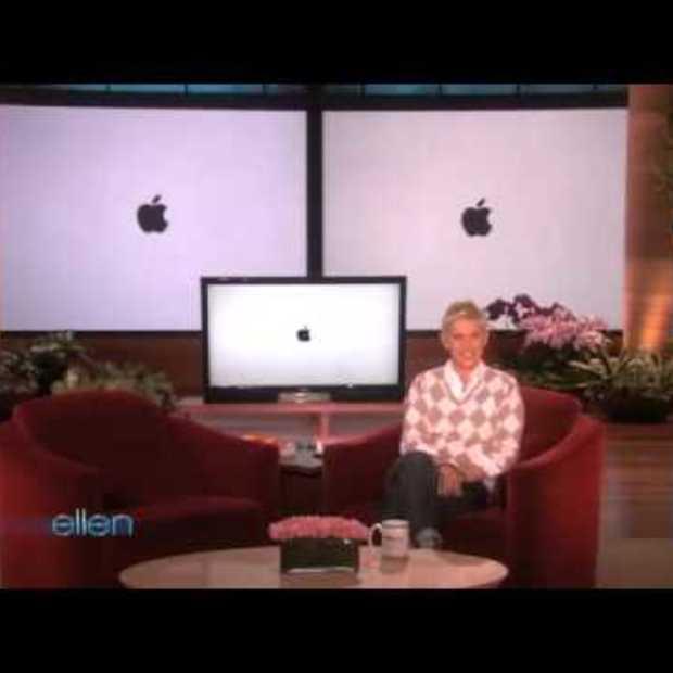 Ellen parodie op de Apple iPhone
