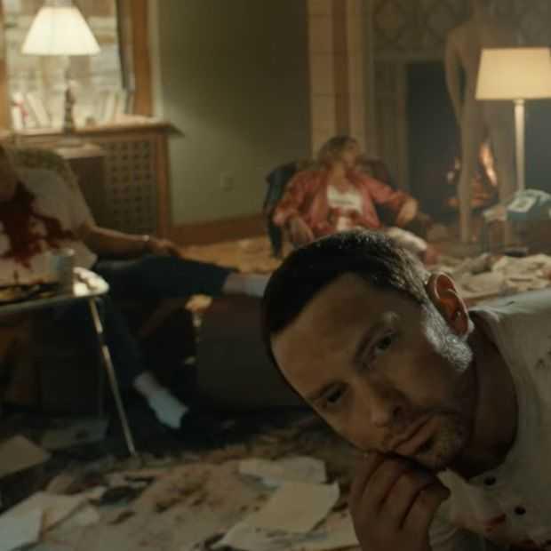 Video: check Eminem's creepy horror clip voor 'Framed'