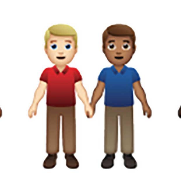 Nieuwe emoji's: koppels in 55 combinaties van huidskleur en geslacht