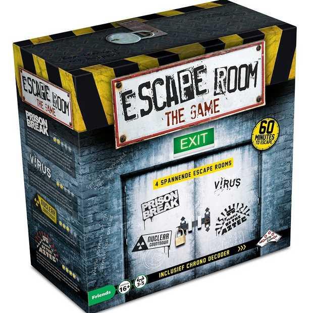 Nu ook thuis een Escape Room met het eerste bordspel