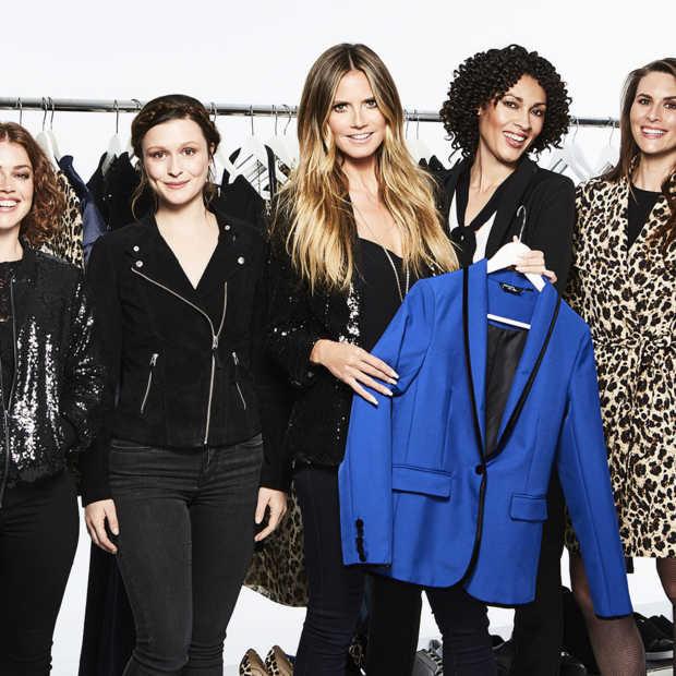 Lidl strikt Heidi Klum; samen brengen ze een kledingcollectie uit