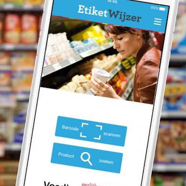App Voedingscentrum wijst de weg in etiketinformatie