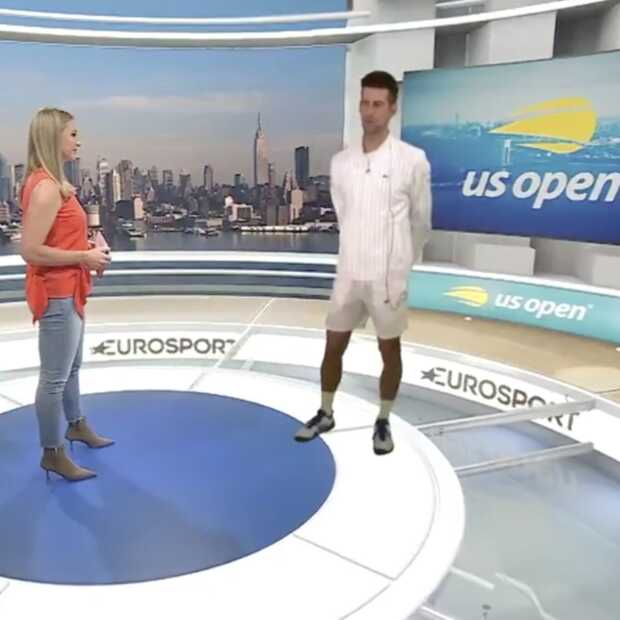 Eurosport onthult mixed-reality Cube studio voor US Open