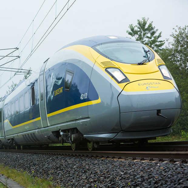 Campagne promoot treinreizen bij vliegtuigpassagiers op luchthavens