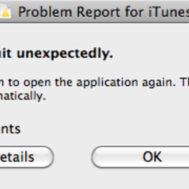 Even terug van iTunes 11.0 naar 10.7