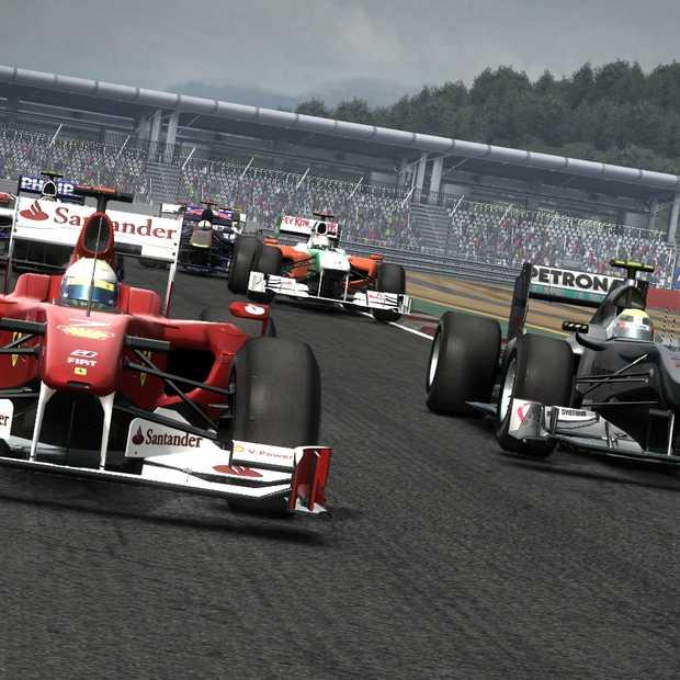 F1 2010: Een Hobbelige Pole Position