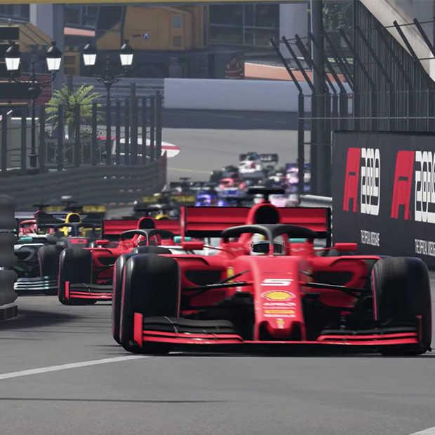 Veel rivaliteit in nieuwe game trailer F1 2019