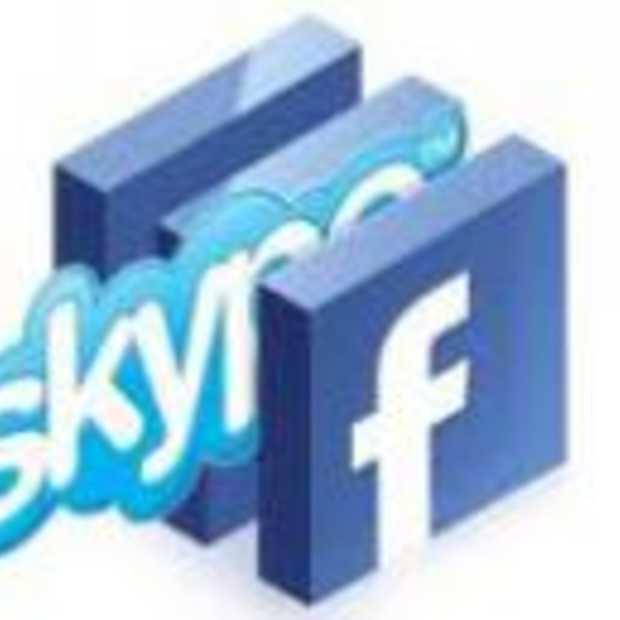 Facebook en Google lonken naar Skype