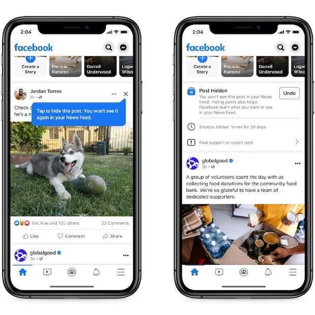 Facebook gaat nieuwe algoritmen voor News Feed testen