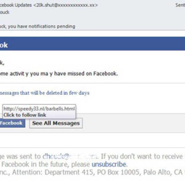 Facebook-gebruikers vaker doelwit cybercriminelen