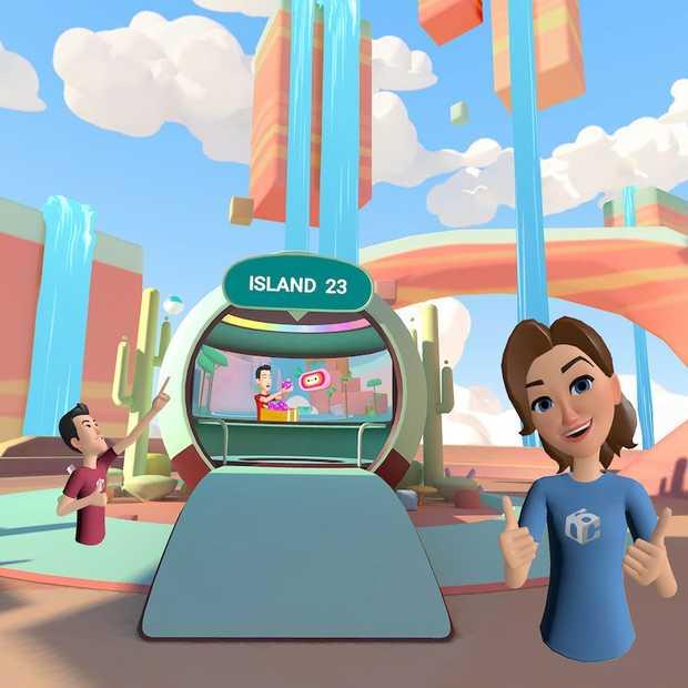 Facebook kondigt nieuw sociaal VR-netwerk aan