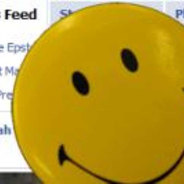Facebook indexeert geluk