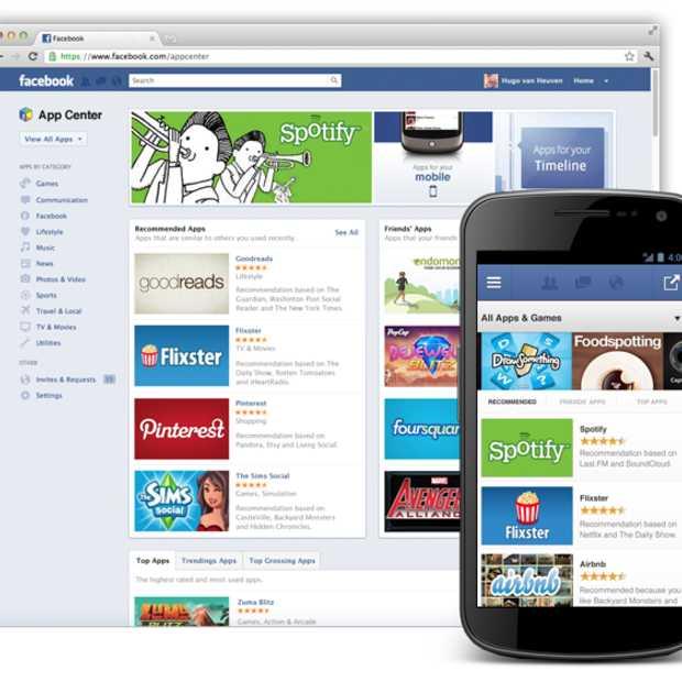 Facebook introduceert het App Center
