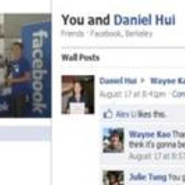 Facebook lanceert Friendship Pages