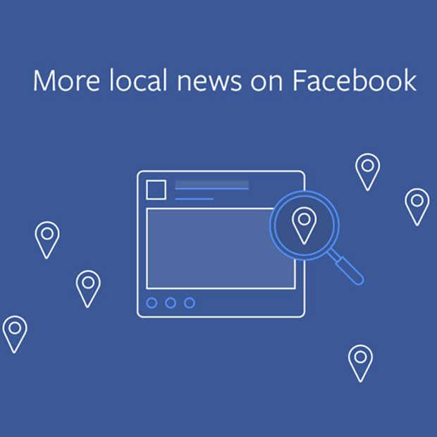 Facebook gaat meer prioriteit geven aan lokaal nieuws