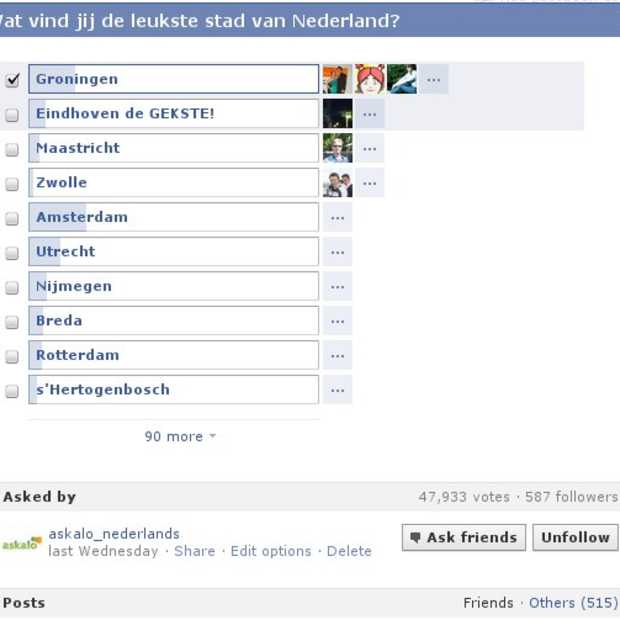 Facebook polls: een boost voor je Facebookpagina?