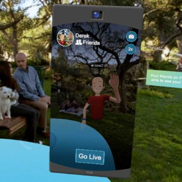 Facebook Spaces krijgt nu ook livestreaming in VR