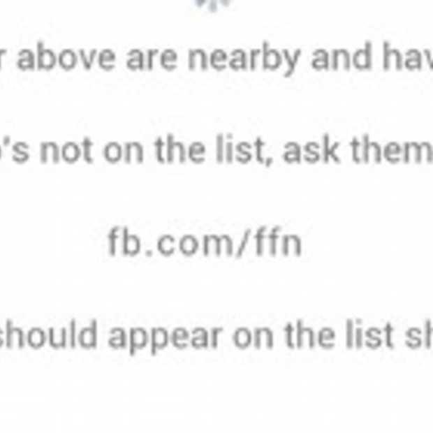 Facebook trekt de stekker uit de 'find friends nearby' functie