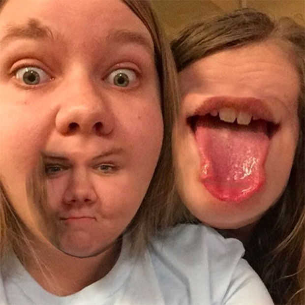 Snapchat: 16x creepy Face Swap foto's