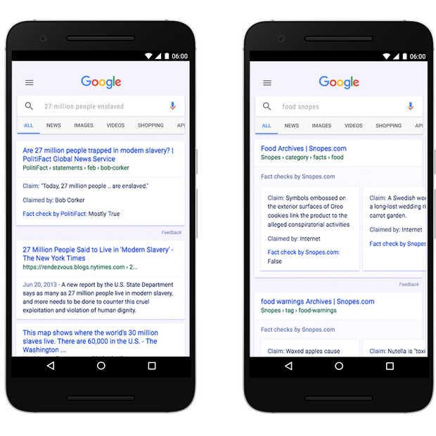 Google maakt Fact Check wereldwijd beschikbaar voor zoeken & nieuws