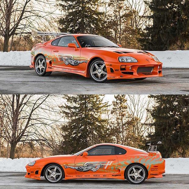 """Paul Walker's stunt auto uit """"The Fast & The Furious"""" staat te koop"""
