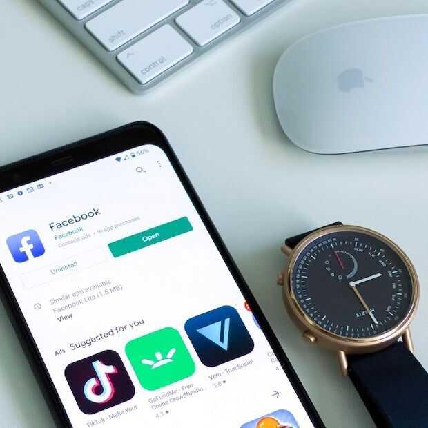 'Facebook smartwatch komt in 2022 en heeft twee camera's'
