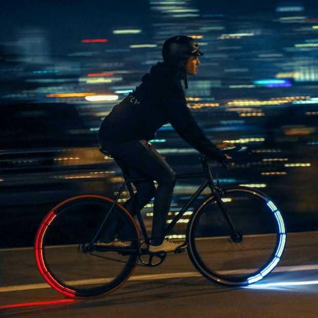 Nooit meer losse lampjes op je fiets met de Revolights Eclipse+