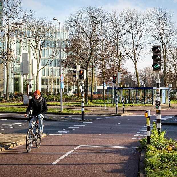 Slim verkeerslicht herkent naderende fietsers met hulp van radar