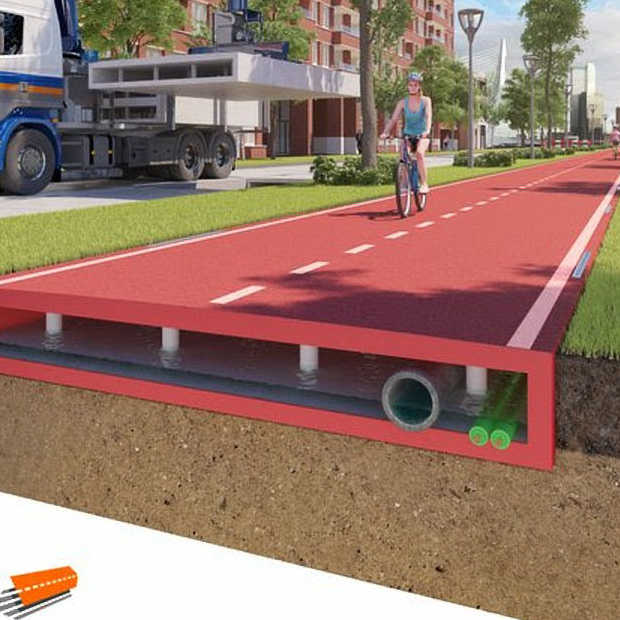 Eerste PlasticRoad-fietspad komt in Zwolle