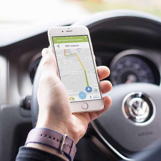 Find & Park-app van EasyPark: snel een vrije parkeerplaats vinden