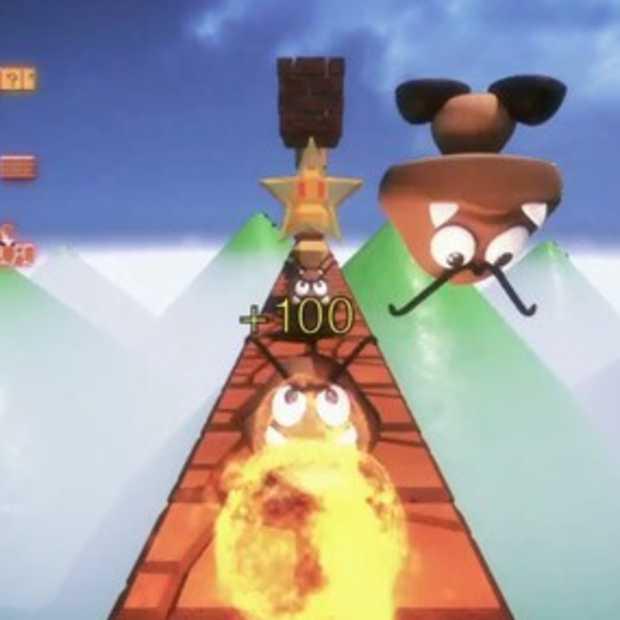 First person Super Mario Bros.: niet handig, wel leuk