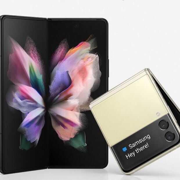 Worden dit de Galaxy Fold 3 en Z Flip 3?