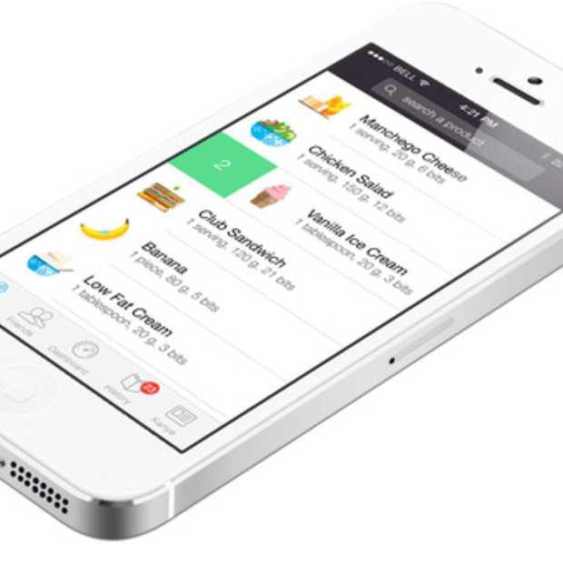 Foodzy lanceert nieuwe iOS7 app: Gelijk aan de slag met je goede voornemens!