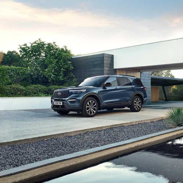 Amerika's bestverkochte SUV komt naar Nederland: Ford Explorer Plug-In Hybrid