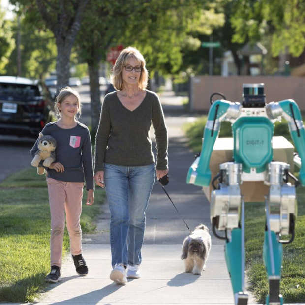 Lopende robot je nieuwe pakketbezorger?