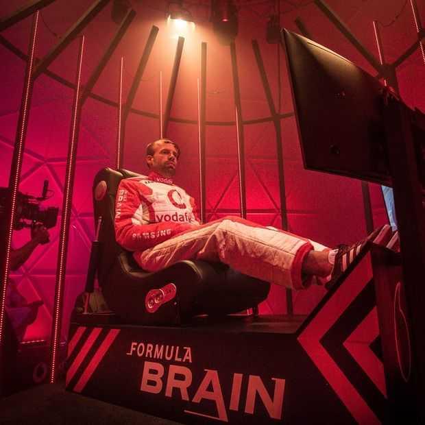 Formula Brain: een raceauto besturen alleen door er aan te denken