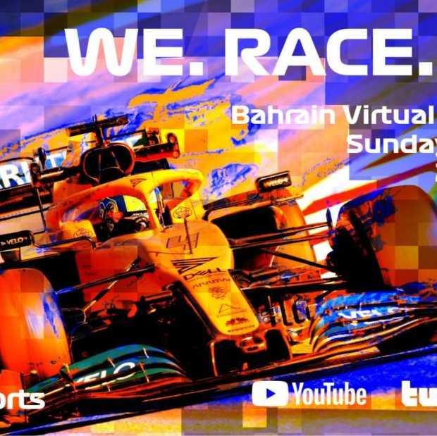 Uitgestelde Formule 1-races worden gereden in Virtual Grand Prix