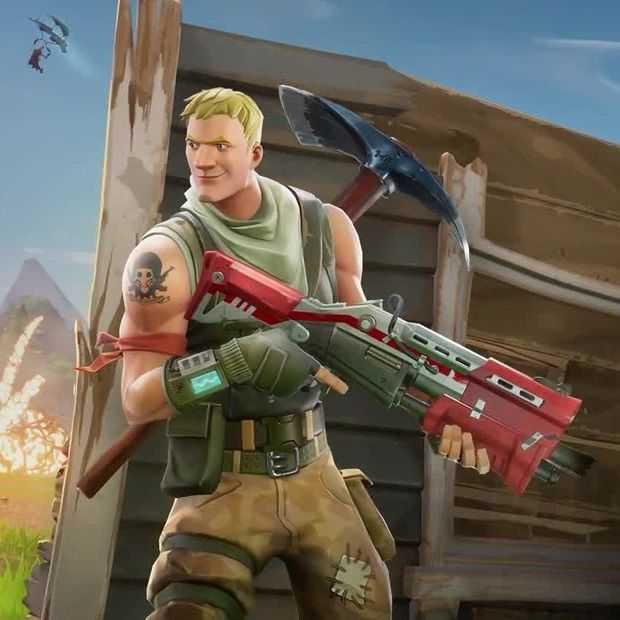 Fortnite Battle Royale komt ook naar mobiel en is cross-play