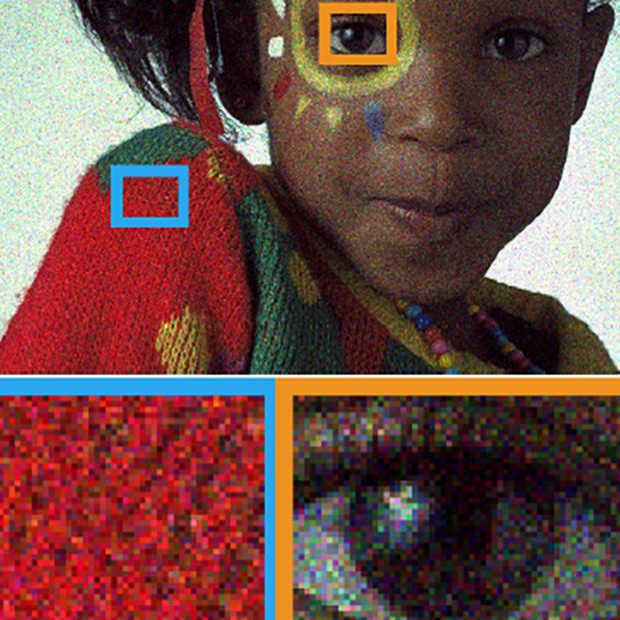 Van korrelige naar scherpe foto met artificial intelligence