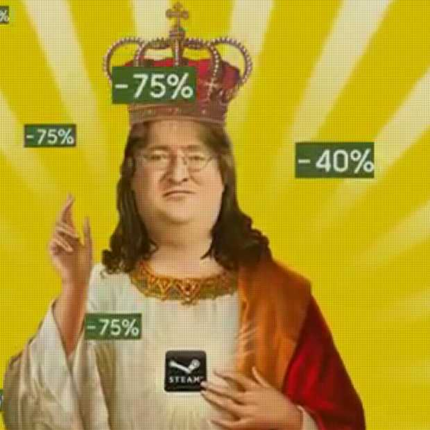 Gabe Newell and the Holy Grail: de Steam Summer Sale komt eraan!
