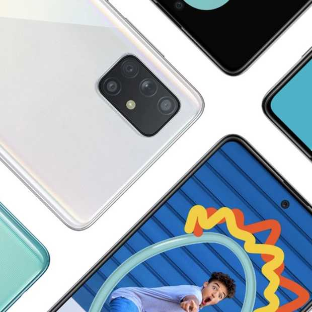 Samsung komt met nieuwe Galaxy A71 en Galaxy A51