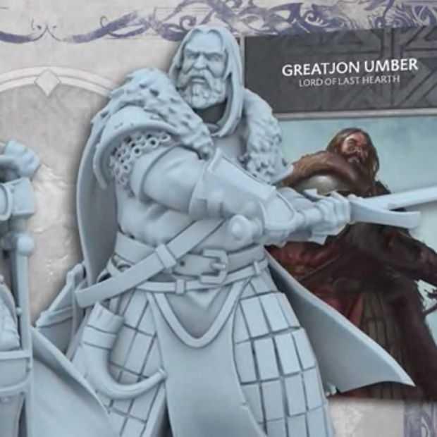 Een Game of Thrones bordspel gaat goed op Kickstarter