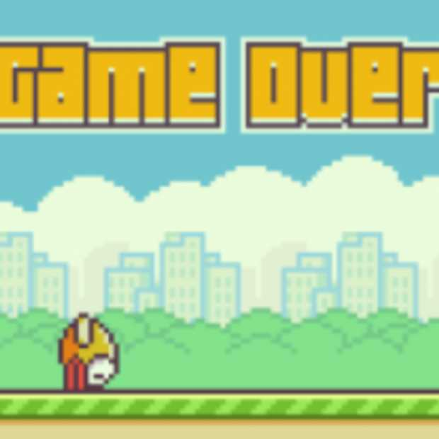 Game over voor Flappy Bird [update]