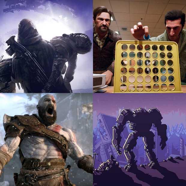 Gamecowboys podcast: De beste games van 2018