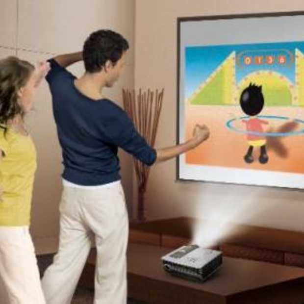 Gaming Projector, groter beeld vanaf kortere afstand